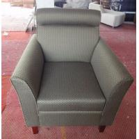 Wholesale Hotel fabric lounge chair with ottoman ,single sofa LC-0010 from china suppliers