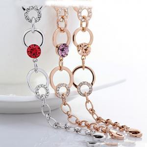 Wholesale Ref No.: 205010 dew Elements Swarovski bracelet uk custom birthstone jewelry for mom birthstone mothers jewelry from china suppliers