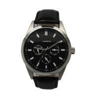 Wholesale Movement Multifunction Wrist Watch Round Case For Men Black 43.0MM from china suppliers