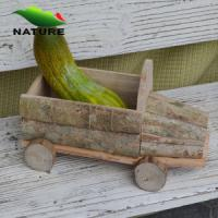 Wholesale Wooden Car Shaped Flower Plant for Garden from china suppliers