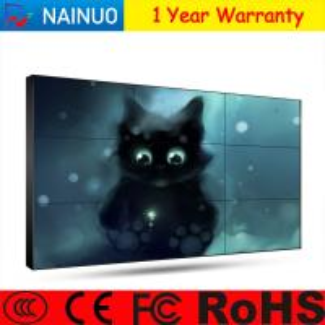 Buy cheap Commercial Grade Super Narrow Bezel Tv Display Screen AC240V 50HZ / 60HZ from wholesalers