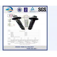 Wholesale Black Square Railway Wood Screw Spikes Sleeper Screws With High Yield Strength from china suppliers