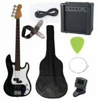 Wholesale 43 inch Electric Bass Guitar Kit Four String with JB Classic Bridge AGB43-HB2 from china suppliers