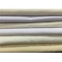 Wholesale Eco Friendly Grey Cotton Polyester Blend Fabric For Shirt Dyeing / Printing from china suppliers