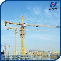 Buy cheap TC6012 Self Erecting Topkit Tower Crane Double Top Slewing Type 6T Load from wholesalers