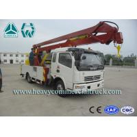 Wholesale Electro Hydraulic Electric Aerial Platform Truck With Lifting Boom 14M - 16M from china suppliers