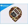 Buy cheap Pre Cut Heat Seal Lids Dairy Food Packaging / Peelable Plastic Film from wholesalers
