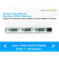 Wholesale Dual IP Input  ATSC Digital TV Modulator 6M Bandwidth Digital Video Broadcasting Terrestrial from china suppliers