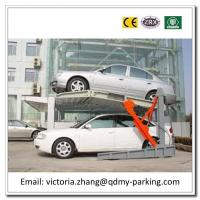Wholesale Electric Platform Stacker 2 Level Parking Lift Simple Tilting Home Mini Two Post Lifts from china suppliers
