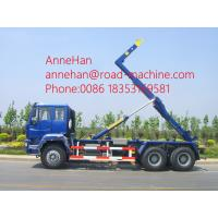 Wholesale Sinotruk 266hp Garbage Compactor Truck Euro II 6x4 HOWO Hydraulic Arm Hook Lift from china suppliers