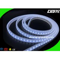 Wholesale Waterproof IP68 Soft Led Strip Lighting Safety Tape Lamp Specialized for Industrial Mines Tunnel from china suppliers