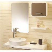 Wholesale Champagne And White Painting Bathroom Vanity Cabinets With Painting Table from china suppliers