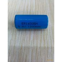 Wholesale ER14335 battery 3.6V 2/3AA Lithium Thionyl Chloride Battery ER14335M 1200mah from china suppliers