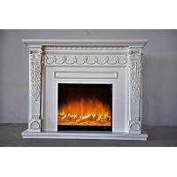 Buy cheap Energy Efficient Wall Mounted Fireplace Reception Room / Hotel Hall Use from wholesalers