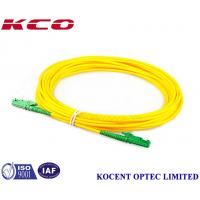 Wholesale RoHs Fiber Optic Patch Cord , Single Mode Fiber Jumpers 1m 2m 3m 5m 10m 20m 30m from china suppliers