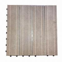 Wholesale DIY Decking Tiles, Anti-termite and -slip from china suppliers