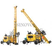 Wholesale Full hydraulic-mounted Geological Drilling Rig Diesel Engine With Flexible Operating System from china suppliers