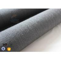 Wholesale 800gsm Black Vermiculite Coated Fiberglass Fabric Thermal Insulation Materials from china suppliers