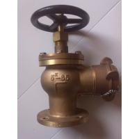 "Wholesale 2 1/2"" JIS marine bronze angle fire valve/hydrant valve DN65 from china suppliers"