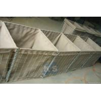 Wholesale 3, 4, 5mm Hot Dipped Galvanized Wire Dia Gabion Retaining Wall Hesco Blast Wall from china suppliers