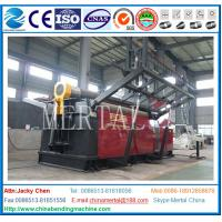 Wholesale CNC Machine MCL W11STNC on a fully hydraulic CNC small roller Universal plate bending machine from china suppliers