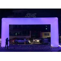 Wholesale Attractive Sport Inflatable Archway Fire Resistant With LED Changing Light from china suppliers