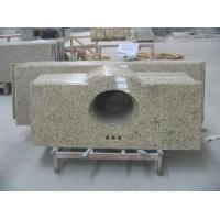 Quality Giallo Ornamental Granite Vanity Tops / Countertop (LY-059) for sale