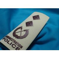 Wholesale High Density Custom Clothing Patches , Heat Transfer Printing for Cotton Fabric Uniform from china suppliers