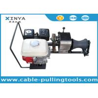 Wholesale 1 Ton Honda Engine Compact Electric Cable Winch Puller to Stringing Wire from china suppliers