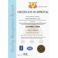 Viasion technology co.,ltd Certifications