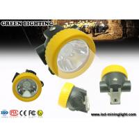 Wholesale PC Material Small All in one Coal Miner Hard Hat Light with Li ion Battery from china suppliers