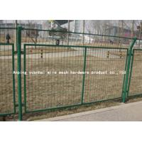 Wholesale Custom Decorative Iron Galvanized Welded Wire Fence For Garden Buildings Fence from china suppliers