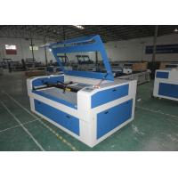 Wholesale Laser Cutting / engraving machine for acrylic nonmetal 80W Reci blue colour from china suppliers