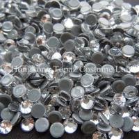 Wholesale New strong grey glue heat transfer rhinestone hot fix strass cristal from china suppliers