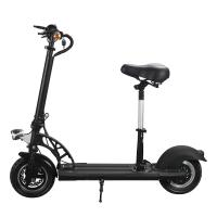 Wholesale E4-6 Electric Bike 10 Inch Foldable Electric Scooter Two Wheel With Ajustable Seat from china suppliers
