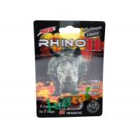 Wholesale 30000 Rhino11 Herbal Sex Capsule 3D Cards For Men Sexual Dysfunction from china suppliers