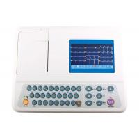Wholesale Portable 12 Lead ECG Machine 3 Channel Color Display 5 Inch ECG Monitor from china suppliers