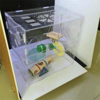Wholesale Costom figure high transparent acrylic display case/acrylic hamster cage/acrylic pet cage from china suppliers