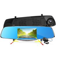 Wholesale Allwinner F23 5 Inch Car Mirror DVR With Dual Camera With Allwinner F23 Solution from china suppliers