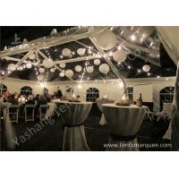 Wholesale Beautiful Transparent PVC Cover Aluminum Alloy Frame Luxury Outdoor Marquee Tent For Wedding from china suppliers
