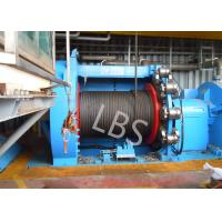 Wholesale 10T 20T Hydraulic Windlass Winch With Lebus Grooving Drum Eco Friendly from china suppliers