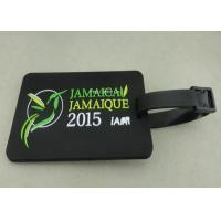 Wholesale Personalized Soft PVC Luggage Tag , 2D Eco Friendly Rubber Personalized Luggage Tags from china suppliers