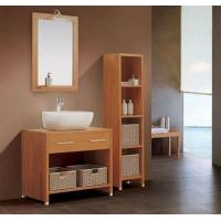 Wholesale 16mm oak / plywood Ceramic Bathroom Vanity 48 inch 2 doors without Drawer from china suppliers