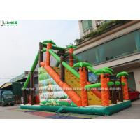 Wholesale Kids Inflatable Obstacle Sport Mega Run Jungle Basejump Fireproof from china suppliers