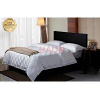 Wholesale 100% Cotton  Luxury Hotel Bedding Sets  White 300TC 9cm checks from china suppliers