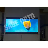 Wholesale Commercial Indoor Advertising Led Display Wall / Large 6mm Led Screen Super Clear Vision from china suppliers