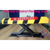 Wholesale Cold Rolled Steel remote control parking space lock , Responding distance within 30m from china suppliers
