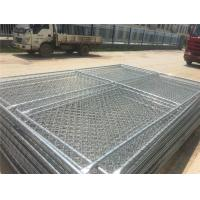 Wholesale 6x10ft hot dip galvanized construction site temporary fencing from china suppliers