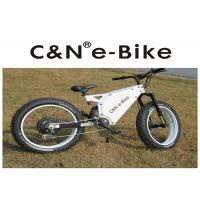 "Wholesale 26"" Enduro Electric Fat Tire Mountain Bike Aluminum Alloy Frame White Color from china suppliers"