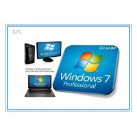 Wholesale Windows 7 Professional Full Retail Version 32 & 64 Bit With Genuine Key from china suppliers